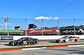 #95: Christopher Bell, Leavine Family Racing, Toyota Camry Germania Insurance, #20: Erik Jones, Joe Gibbs Racing, Toyota Camry Toyota Camry