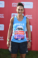 Adele Roberts<br /> at the start of the 2018 London Marathon, Greenwich, London<br /> <br /> ©Ash Knotek  D3397  22/04/2018
