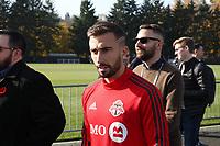 TUKWILA, WA - NOVEMBER 08: Nicolas Benezet #7 of Toronto FC at Starfire Sports Complex on November 08, 2019 in Tukwila, Washington.
