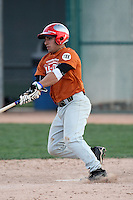 January 16, 2010:  Zachary (Zach) Valenzuela (Victoria, TX) of the Baseball Factory Texas Team during the 2010 Under Armour Pre-Season All-America Tournament at Kino Sports Complex in Tucson, AZ.  Photo By Mike Janes/Four Seam Images