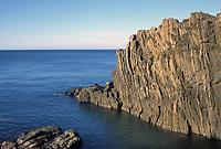 - Liguria, la costa delle Cinque Terre nei pressi del paese di Riomaggiore<br /> <br /> - Liguria, the Cinque Terre coast near the village of Riomaggiore.