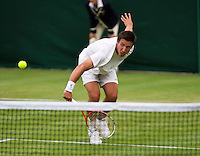 25-06-13, England, London,  AELTC, Wimbledon, Tennis, Wimbledon 2013, Day two, Igor Sijsling (NED)<br /> <br /> <br /> <br /> Photo: Henk Koster