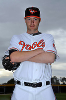 Feb 27, 2010; Tampa, FL, USA; Baltimore Orioles  pitcher Chris Tillman (54) during  photoday at Ed Smith Stadium. Mandatory Credit: Tomasso De Rosa