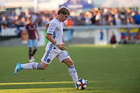 SAN JOSÉ CA - JULY 27: Florian Jungwirth #23 during a Major League Soccer (MLS) match between the San Jose Earthquakes and the Colorado Rapids on July 27, 2019 at Avaya Stadium in San José, California.