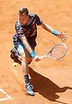 Tomas Berdych, Czech Republic, during Madrid Open Tennis 2015 match.May, 9, 2015.(ALTERPHOTOS/Acero)