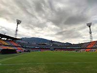 MEDELLÍN- COLOMBIA,  12-09-2021 .Atlético Nacional  y La Equidad en partido por la fecha 9 como parte de la Liga BetPlay DIMAYOR II 2021 jugado en el estadio Atanasio Girardot  de la ciudad de Medellín. / Atletico Nacional and La Equidad during match date 9 Betplay DIMAYOR League II 2021 played at  Atanasio Girardot stadium in Medellín city. Photo: VizzorImage / Luis Benavides / Contribuidor