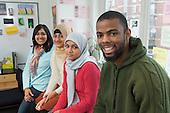 Muslim Youth Helpline: Rukaiya Jeraj (Site Editor), Faridah Karim (Project Co-ordinator), Shareefa Fulat (Director), Mohamed Ellis (Helpline Development Worker)