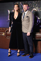 "Guy Ritchie and Jacqui Ainsley<br /> at the premiere of ""Fantastic Beasts and where to find them"", Odeon Leicester Square, London.<br /> <br /> <br /> ©Ash Knotek  D3198  15/11/2016"