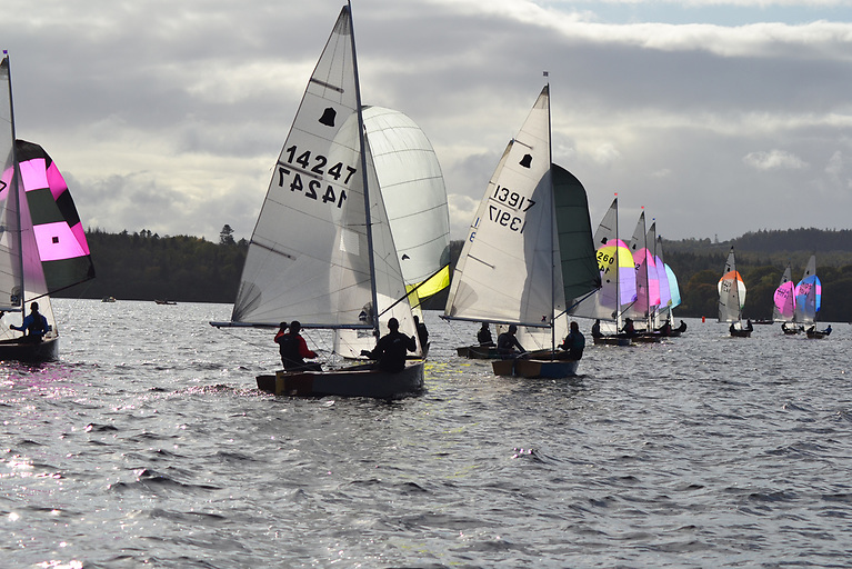 The GP14 fleet return to Lough Erne Yacht Club for the 2021 Irish Championships on August 13th