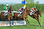 1 May 2010: Dubai Sunday with Darren Nagle (4th), One Sea wtih Roddy MacKenzie (3rd), Fantastic Foe and Carl Rafter (1st) in the Rutherfoord Chase at the Virginia Gold Cup, The Plains, Va.
