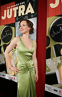 January 20 2005, Montreal (Quebec) CANADA<br /> <br /> Karine Vanasse, actress (R) the 2005 Jutra Gala in Montreal.