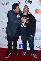 Greg Grunberg + Josh Gad @ the Stand Up To Cancer 2016 held @ the Walt Disney Concert Hall. September 9, 2016