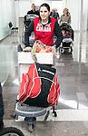Alana Ramsay, Sochi 2014.<br /> Team Canada arrives at the airport in Sochi for the Sochi 2014 Paralympic Winter // Équipe Canada arrive à l'aéroport de Sotchi pour Sochi 2014 Jeux paralympiques d'hiver. 03/03/2014.