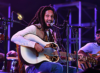 DELRAY BEACH - FEBRUARY 27: Julian Marley  performs a semi acoustic set with The Wailers at the Old School Square Pavilion on February 27, 2021 in Delray Beach, Florida Credit: mpi04/MediaPunch
