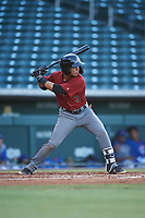AZL Dbacks Jose Curpa (3) at bat during an Arizona League game against the AZL Cubs 2 on June 25, 2019 at Sloan Park in Mesa, Arizona. AZL Cubs 2 defeated the AZL Dbacks 4-0. (Zachary Lucy/Four Seam Images)