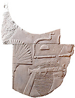 Pictured: The ancient carving<br />Re: An Egyptian artwork that was kept in storage for over forty years has been identified as an extremely rare depiction of one of Egypt's few female pharaohs.<br />The relief sculpture was discovered at Swansea University's Egypt Centre during a student handling session.<br />It depicts Hatshepsut, one of just five women known to have ruled the empire.<br />It came to the city in 1971 as part of Sir Henry Wellcome's collection.<br />The discovery was made by Egyptology lecturer Dr Ken Griffin on International Women's Day.