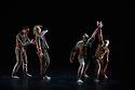 "London, UK. 31.05.2012. Rambert Dance Company presents a Season of New Choreography 2012 at the Queen Elizabeth Hall, Southbank, London. Picture shows: ""Heist"", choreographed by Jonathan Goddard and Gemma Nixon. Dancers are: Jonathan Goddard Gemma Nixon, Eryck Brahmania, Estela Merlos."