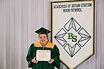 Campbell, Jaima  received their diploma at Bryan Station High school on  Thursday June 4, 2020  in Lexington, Ky. Photo by Mark Mahan Mahan Multimedia