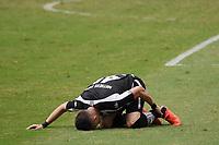 Rio de Janeiro (RJ), 16/05/2021 - Botafogo-Vasco - Matheus Frizzo jogador do Botafogo comemor,durante partida contra o Vasco,válida pelas finais da Taça Rio,realizada no Estádio Nilton Santos (Engenhão), na zona norte do Rio de Janeiro,neste domingo (16).