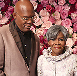 Samuel Jackson and Cicely Tyson attends the 2016 American Theatre Wing Gala honoring Cicely Tyson at the Plaza Hotel on September 22, 2016 in New York City.