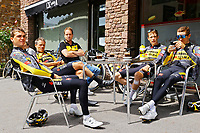 July 12th 2021, Andorre-la-Vielle, France; TEAM JUMBO VISMA during rest day 2 of the 108th edition of the 2021 Tour de France cycling race on July 12