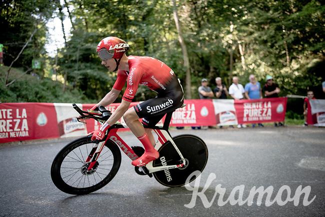 Wilco Kelderman (NED/Sunweb)<br /> <br /> stage 10 (ITT): Jurançon to Pau (36.2km > in FRANCE)<br /> La Vuelta 2019<br /> <br /> ©kramon