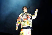 LONDON, ENGLAND - OCTOBER 8: Conor Mason of 'Nothing But Thieves' performing at O2 Arena, London on October 8, 2021<br /> CAP/MAR<br /> ©MAR/Capital Pictures