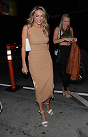 Sistine Stallone Spotted At Catch In Hollywood