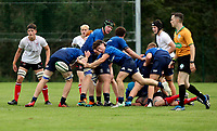 Saturday 4th September 20218 <br /> <br /> Jack Nolan during U18 Clubs inter-pro between Ulster Rugby and Leinster at Newforge Country Club, Belfast, Northern Ireland. Photo by John Dickson/Dicksondigital