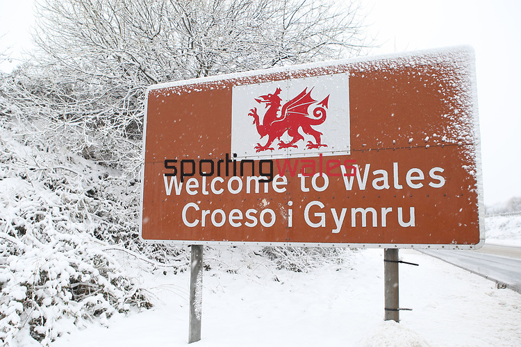 A frosty welcome to Wales for all visitors entering the country via Chepstow.<br /> 13.01.10<br /> ©Steve Pope<br /> Sportingwales<br /> The Manor <br /> Coldra Woods<br /> Newport<br /> South Wales<br /> NP18 1HQ<br /> 07798 830089<br /> 01633 410450<br /> steve@sportingwales.com<br /> www.fotowales.com<br /> www.sportingwales.com<br /> ©Steve Pope<br /> Sportingwales<br /> The Manor <br /> Coldra Woods<br /> Newport<br /> South Wales<br /> NP18 1HQ<br /> 07798 830089<br /> 01633 410450<br /> steve@sportingwales.com<br /> www.fotowales.com<br /> www.sportingwales.com