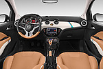 Stock photo of straight dashboard view of a 2015 Opel Adam Rocks 3 Door Hatchback