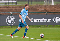 Ethan Amundsen-Day (5) of Norway pictured in action during a soccer game between the national teams Under17 Youth teams of  Norway and Belgium on day 3 in the Qualifying round in group 3 on Tuesday 12 th of October 2020  in Tubize , Belgium . PHOTO SPORTPIX | DAVID CATRY
