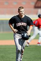 Garrett Baker - San Francisco Giants - 2009 spring training.Photo by:  Bill Mitchell/Four Seam Images