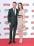 """Lydia Hearst and Chris Hardwick attends The Premiere Of Marvel's """"Ant-Man"""" held at The Dolby Theatre  in Hollywood, California on June 29,2015                                                                               © 2015 Hollywood Press Agency"""
