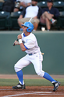 Beau Amaral #25 of the UCLA Bruins bats against the Oregon State Beavers at Jackie Robinson Stadium in Los Angeles,California on April 29, 2011. Photo by Larry Goren/Four Seam Images