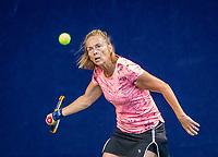Hilversum, The Netherlands,  August 17, 2021,  Tulip Tennis Center, NKS, National Senior Tennis Championships,  Esther Romunde (NED)  Brigitte Keijzer (NED)<br /> Photo: Tennisimages/Henk Koster