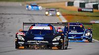#10 Corvette DP, Ricky Taylor, Jordan Taylor, Max Angelelli, Petit Le Mans , Road Atlanta, Braselton, GA, October 2014.   (Photo by Brian Cleary/www.bcpix.com)