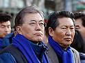 Demonstration against South Korean President Park Geun-Hye's regime in Seoul