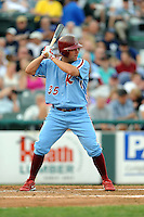July 15, 2009:  Neil Sellers of the Reading Phillies during the 2009 Eastern League All-Star game at Mercer County Waterfront Park in Trenton, NJ.  Photo By David Schofield/Four Seam Images
