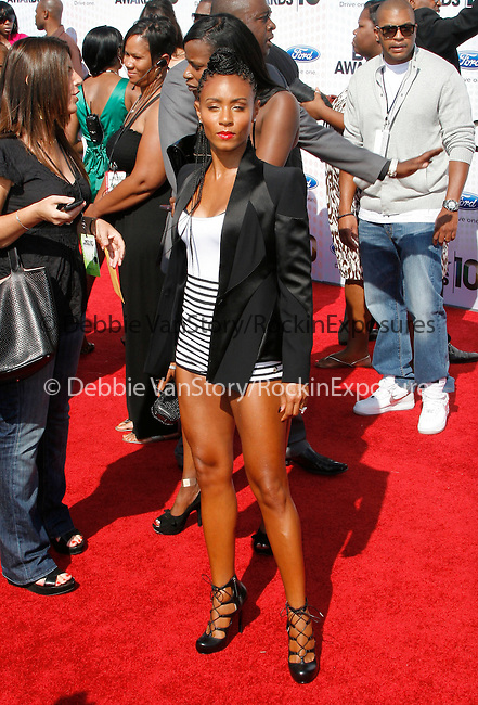 Jada Pinkett-Smith arrives at the 2010 BET Awards at the Shrine Auditorium in Los Angeles, California on June 27,2010                                                                               © 2010 Hollywood Press Agency
