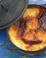 Europe/France/Bretagne/29/Finistère/Ile d'Ouessant: Riz au lait cuit sous les mottes de Tourbe - roz ar milin- Recette de Jeanne Legall