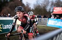 Maud Kaptheijns (NED/Pauwels Sauzen - Bingoal),<br /> <br /> CX Superprestige Zonhoven (BEL) 2019<br /> women's race