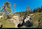 Taft Point Fissure, Fisheye, Profile Cliff, Yosemite National Park