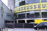 16th May 2020, Signal Iduna Park, Dortmund, Germany; Bundesliga football, Borussia Dortmund versus FC Schalke;   The access to the Signal Iduna Park in Dortmund is closed