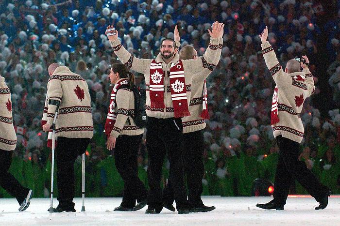Greg Westlake, Vancouver 2010.<br /> Highlights from the Opening Ceremony // Faits saillants de la cérémonie d'ouverture. 03/12/2010.