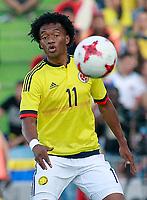 Colombia's Juan Guillermo Cuadrado during international friendly match. June 13,2017.(ALTERPHOTOS/Acero) (NortePhoto.com) (NortePhoto.com)