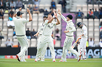 Neil Wagner, New Zealand celebrates the wicket of Rahane during India vs New Zealand, ICC World Test Championship Final Cricket at The Hampshire Bowl on 20th June 2021