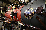 Restoration on the Glenbrook locomotive is expected to wrap up in May 2015. The historic narrow-gauge is seen at the Nevada State Railroad Museum in Carson City, Nev., on Wednesday, Dec. 10, 2014. (Las Vegas Review-Journal/Cathleen Allison)