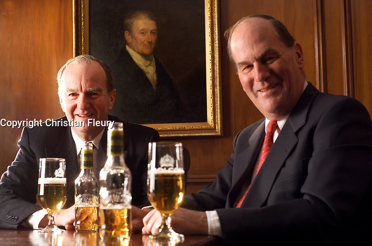 2003, File Photo, Montreal (Qc) CANADA<br /> Exclusive Photo<br /> Molson brothers, Molson Brewery<br /> (c) 2003 by Christian Fleury