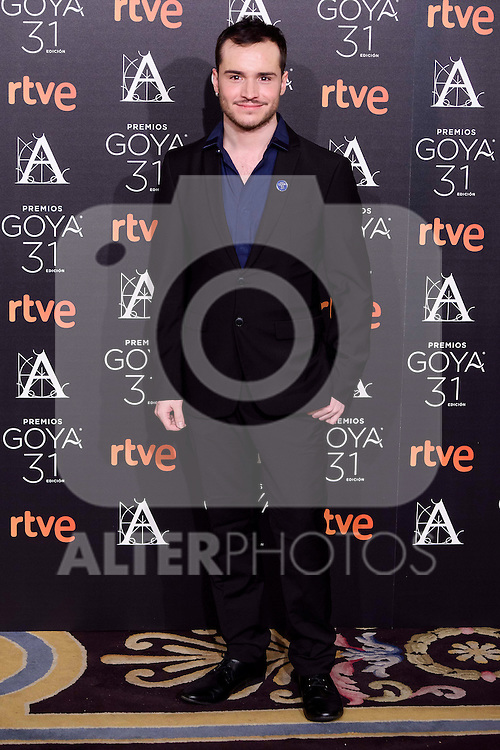 Damia Serra attends to the 2017 Goya Awards Candidates Cocktail at Ritz Hotel in Madrid, Spain. January 12, 2017. (ALTERPHOTOS/BorjaB.Hojas)